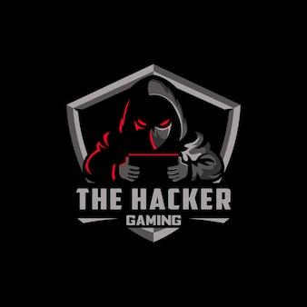 ハッカーeスポーツロゴ