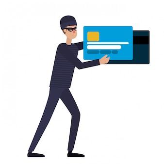 Хакер крадет информацию аватар персонажа