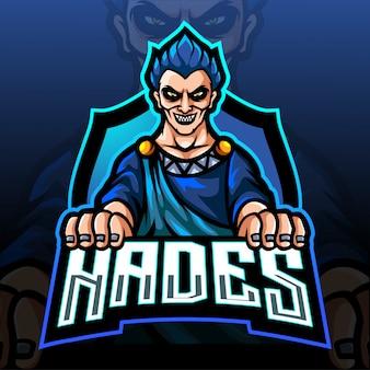 Hades esportロゴマスコットデザイン