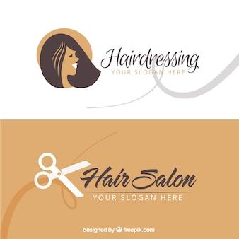 Визитная карточка волос салон