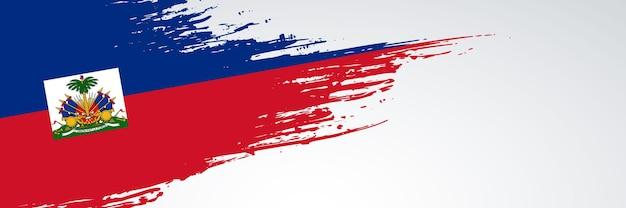 Haiti banner flag
