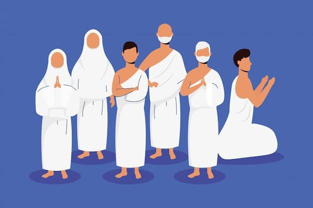 Хадж паломничество с мусульманской сцены