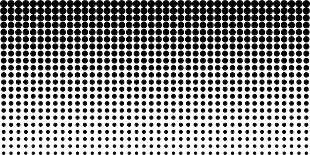 Halftone abstract dotes pattern background