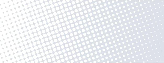 白地にハーフトーンの背景。抽象的な幾何学的な背景