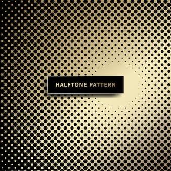 ハーフトーンの背景 Premiumベクター