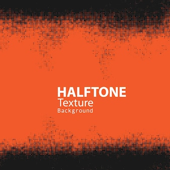 Halftone border frame background