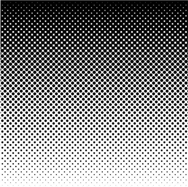 ハーフトーン円ドット抽象的なベクトルの背景またはデザインテンプレートのテクスチャ