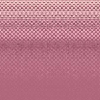 Halftone circle pattern background - vector graphic design from rings in varying sizes