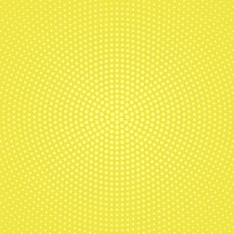 Halftone circular dot background -  abstract vector graphic
