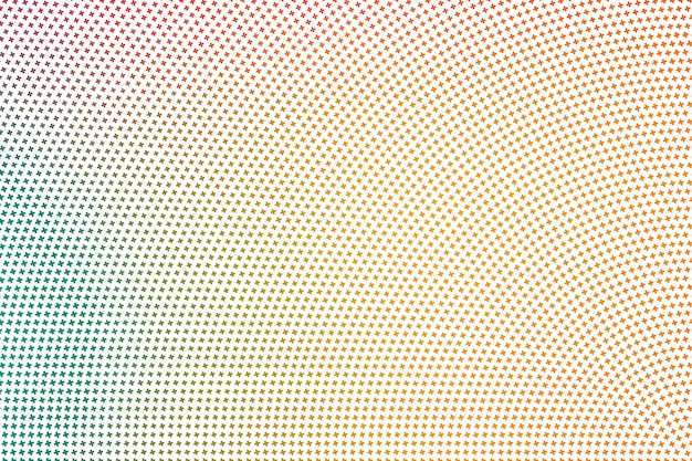 ハーフトーンカラーグラデーション形状。抽象的なパターンの背景の壁紙