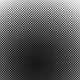 ハーフトーンドットの背景パターン