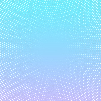 Halftone dot design on pastel gradient background
