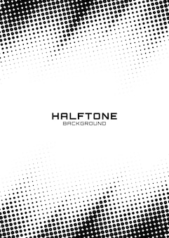 Halftone dots gradient pattern texture vertical background.