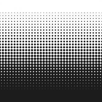 Halftone dotted gradient texture vector