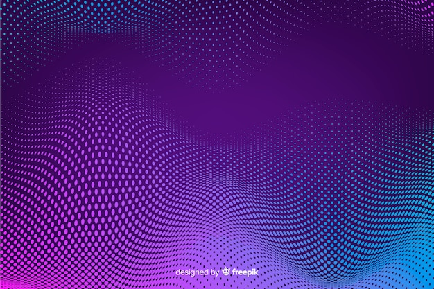 Halftone effect background gradient background