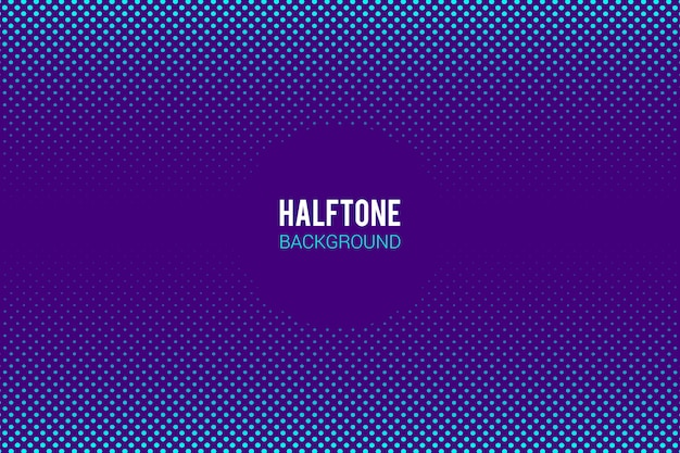 Halftone effect background