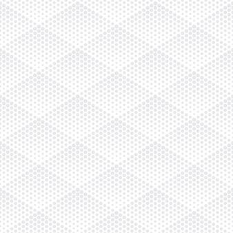 Halftone geometric technology light repetitive seamless pattern