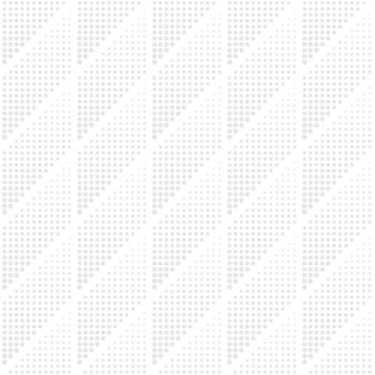 Halftone geometrical vector seamless pattern