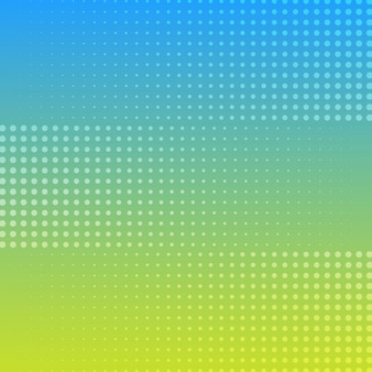 Halftone gradient background color