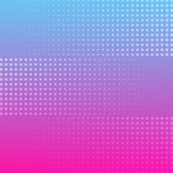 Halftone gradient background color