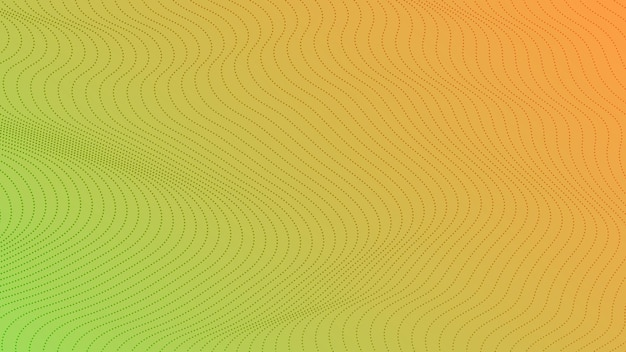 Halftone gradient background with dots. abstract green dotted pop art pattern in comic style. vector illustration