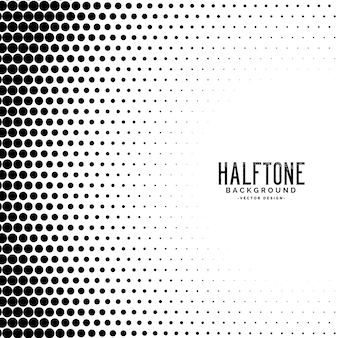 Halftone gradient dots pattern background