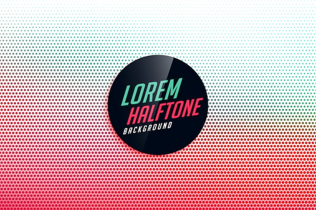 Halftone gradient stylish background