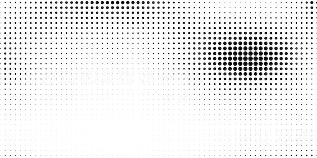 추상 스타일의 하프 톤. 흰색과 검정색 배경.