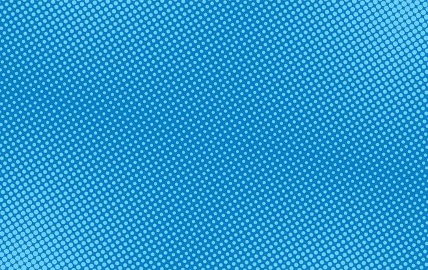 Полутоновый фон поп-арт. комический синий узор. векторная иллюстрация.