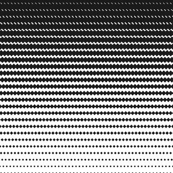 Полутоновый квадратный черно-белый узор. геометрический фон wi