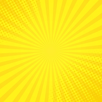 Halftone sunshine background