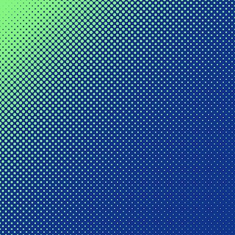 Halftoned dots background