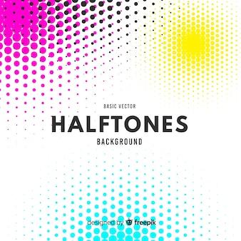 Halftones background