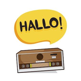 Радио hallo