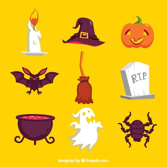 Halloween accessory collection