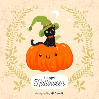 Halloween background concept