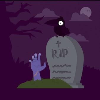 Background design halloween