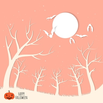 Halloween background have space for your text