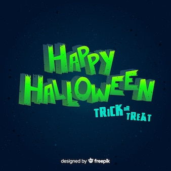Halloween background with lettering