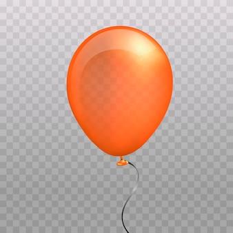 Halloween balloon orange.