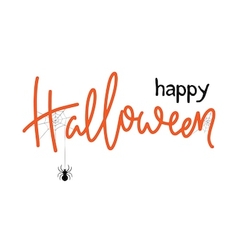 Halloween banner design.