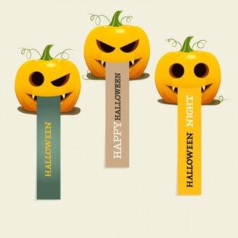 Хэллоуин баннер набор