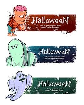 Баннер хэллоуина