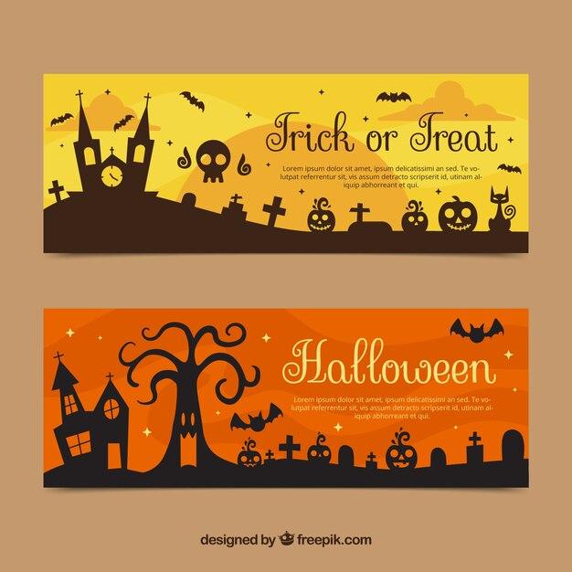 halloween banner vectors photos and psd files free download rh freepik com Grunge Star Vector Halloween Bat Vector