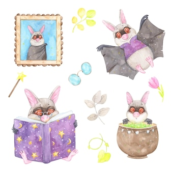 할로윈 박쥐
