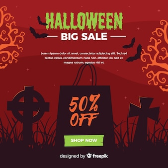 Halloween big sales cemetery background