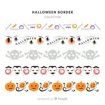 Halloween border set