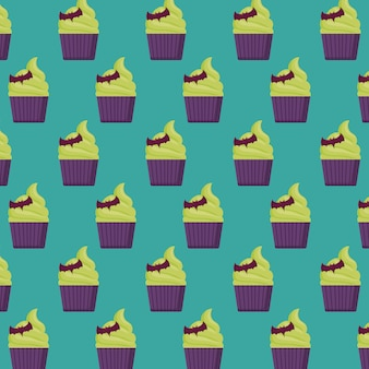 Halloween cake pattern