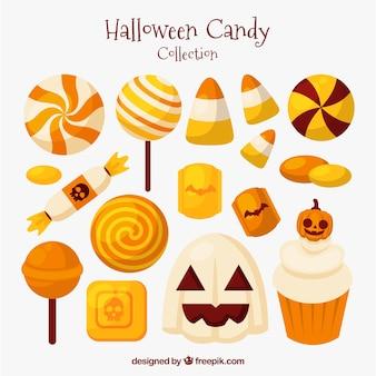 Конфеты хэллоуина с классическим стилем