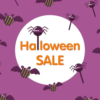 Halloween candy  banner